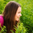 Stock Photo: Woman in grass