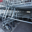 Shoping carts — Stock Photo #9424382