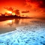 Ocean sunrice — Stock Photo #9489021