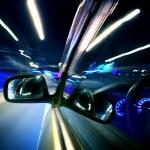 Night car drive — Stock Photo #9489029