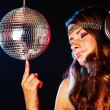 Disco girl — Stock Photo #9495265