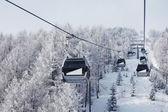 Alpy winda — Zdjęcie stockowe