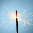 Sparkler fire — Stock Photo #9619769
