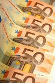 50 euros — Foto de Stock