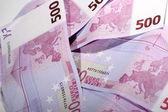 500 euros — Foto de Stock