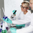 Scientist in chemical lab — Stock Photo #9751492