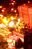 праздничные подарки — Стоковое фото
