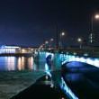 Foto Stock: Night Saint-Petersburg