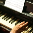 Playing piano — Stock Photo #9989947