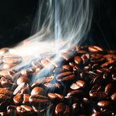 Café en humo — Foto de Stock