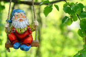 Garden dwarf — Stock Photo