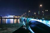 Notte san pietroburgo — Foto Stock