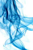 Blue smoke — Stock Photo