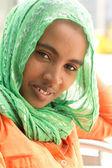 Portrait of young Ethiopian woman — Stock Photo