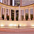 Millennium Park Fountain — Stock Photo