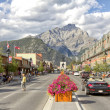 The town of Banff — Stock Photo