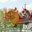 Dragon roller coaster — Stock Photo #9635901