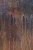 Texture - Rusty metal plate — Stock Photo