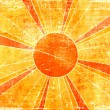 Grunge sun background - Stock Photo