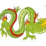 Green Dragon — Stock Vector #8873540