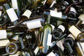 Empty wine bottles — Stock Photo