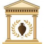 Antique Greek Symbols — Stock Vector