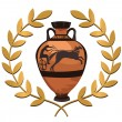 Royalty-Free Stock Vector Image: Antique Greek Vase
