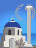 Greek Symbols — Stock Vector