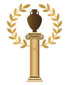 Antyczne greckie symboli — Wektor stockowy