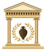 Antika grekiska symboler — Stockvektor