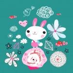 Постер, плакат: Little bunny