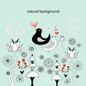 自然背景 — 图库矢量图片