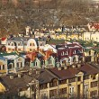 Colorful roofs in Kyiv, Ukraine — Stock Photo #9618206