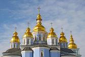 St. Michael's Golden-Domed Monastery in Kiev, Ukraine — Stock Photo