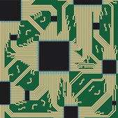 Circuit board. — Stock Vector