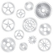 Gear wheels. — Stock Vector