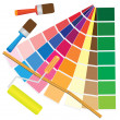 Vector de stock : Colour management.