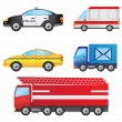 Royalty-Free Stock Vector Image: Set of cars.