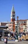 Venice, Piazza San Marco, the canals — Fotografia Stock