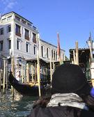 Venice. Gondolas. — Stock Photo