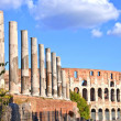 Stock Photo: Rome in October.Colloseo.