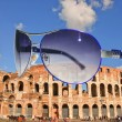 Rome in October.Colloseo. — Stock Photo