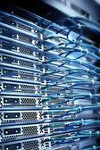 Server a kabely — Stock fotografie