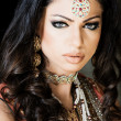 Beautiful Indian Bride - Stock Photo