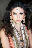 Hermosa novia india — Foto de Stock