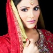 Portrait of beautiful Indibride — Stock Photo #8034836