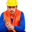 Construction worker — Stock Photo #8453799