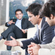 Businessmen in meeting — Stock Photo #8830373