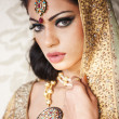 Beautiful Indian Bride — Stock Photo