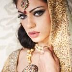 Beautiful Indian Bride — Stock Photo #9855728
